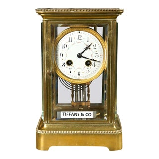 Carriage Clock by Tiffany & Co. For Sale