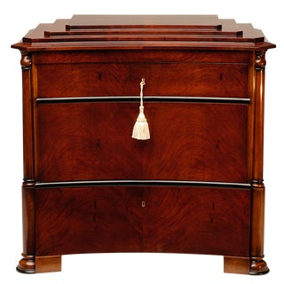 Biedermeier Mercuré Ziggurat Chest of Drawers For Sale
