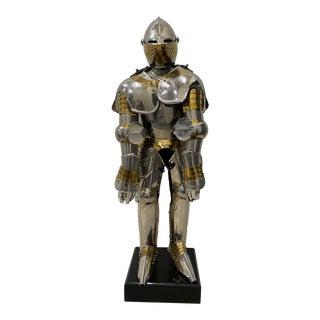Suit of Armor Sculpture For Sale