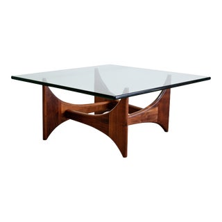 Adrian Pearsall Sculptural Walnut Cocktail Table For Sale