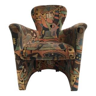Amphora' Armchair by Frans Schrofer & Artist Clemens Briels for Leolux , 1995