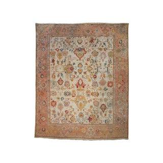 Fantastic Antique Oushak Carpet (Dk-113-96) For Sale