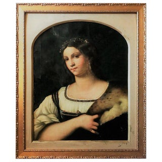 Late 18th Century Antique Masterpiece After Sebastiano Del Piombo Painting For Sale