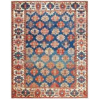 Tribal Antique Persian Bakshaish Rug - 11′ × 13′11″ For Sale