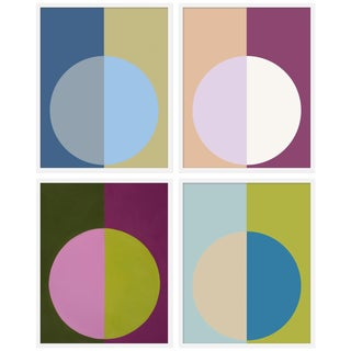 "XL ""Cool Forevers"" Print by Stephanie Henderson, 50"" X 62"" - Set of 4"