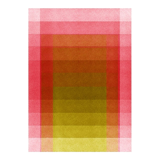 Jessica Poundstone Pink & Acid Yellow [Color Space Series] Print - Image 3 of 3