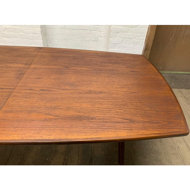 "1960s Fredrik Kayser ""Captains"" Dining Table For Sale - Image 5 of 9"