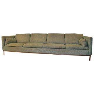 Extra Long Sofa by Steelcase For Sale