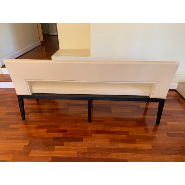 Modern Holly Hunt Velin Bench For Sale - Image 3 of 6