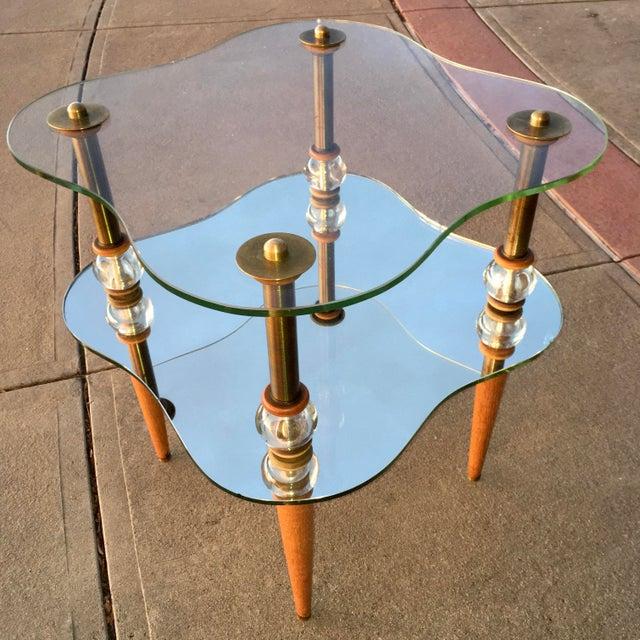 Mid-Century Modern Cloud Table Manner of Gilbert Rhode For Sale In Denver - Image 6 of 13