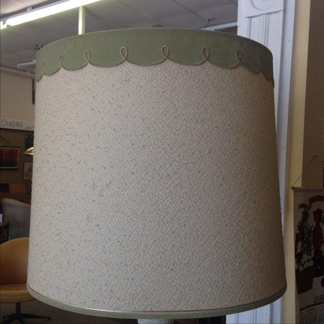 Mid Century Modern Lamp & Original Shade - Image 4 of 9