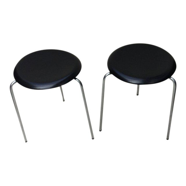 Arne Jacobsen 3 Leg Stools For Sale