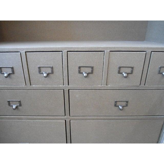 Restoration Hardware Steamer Trunk Secretary For Sale - Image 7 of 11