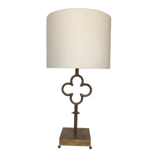 Visual Comfort Quatrefoil Table Lamp by Suzanne Kasler For Sale
