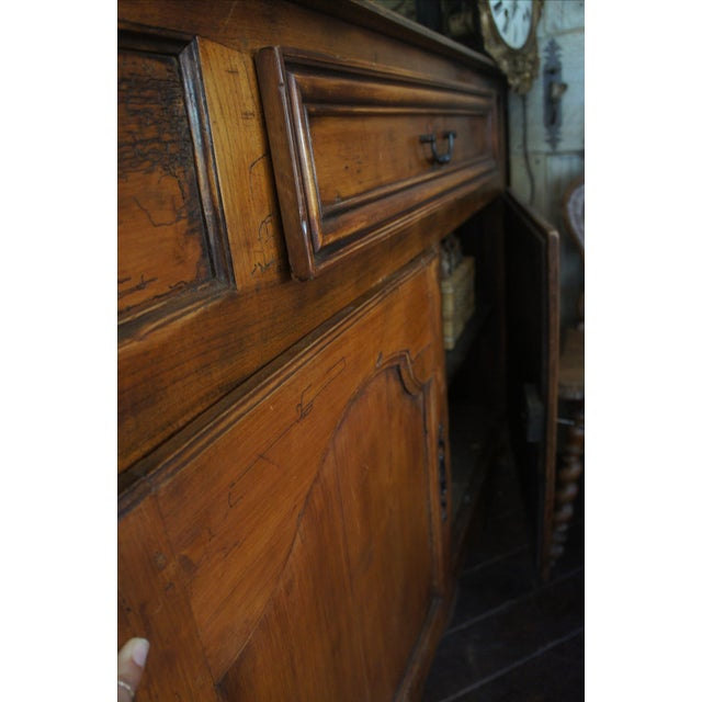 18th Century Antique French Walnut Hutch - Image 3 of 5