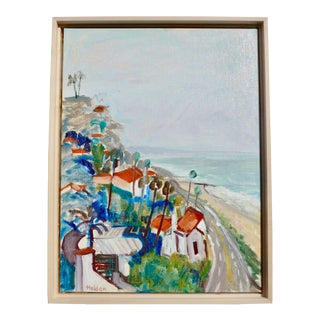 California Contemporary Hillsides Oil Painting by Martha Holden For Sale