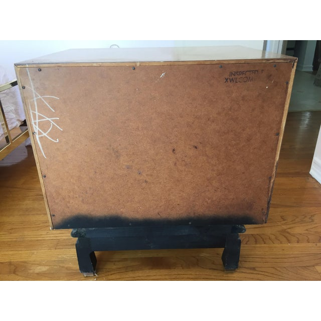 1960s Mid Century Modern American of Martinsville Nightstand For Sale In Los Angeles - Image 6 of 12