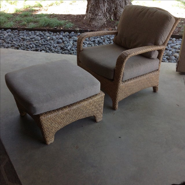 This stylish and comfortable lounge chair and chaise are part of the Brown Jordan Havana collection and are featured in...