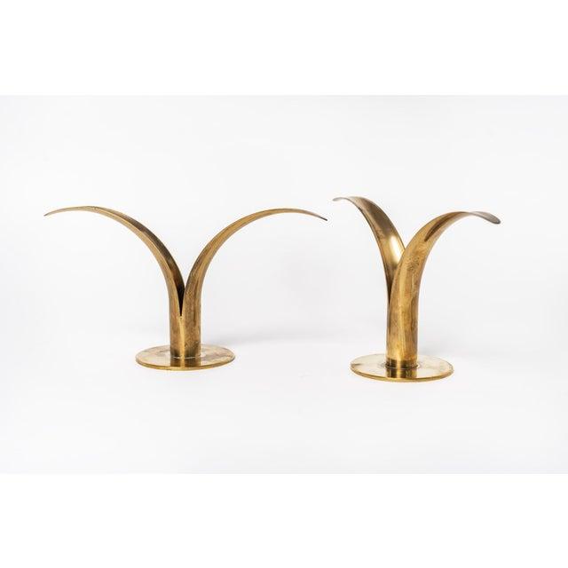 Art Deco Liljan Lily Ivar Alenius-Bjork Candle Holders For Sale - Image 3 of 11