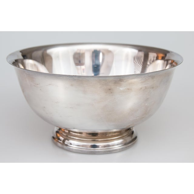 Vintage Silverplate Revere Bowl For Sale In Houston - Image 6 of 6