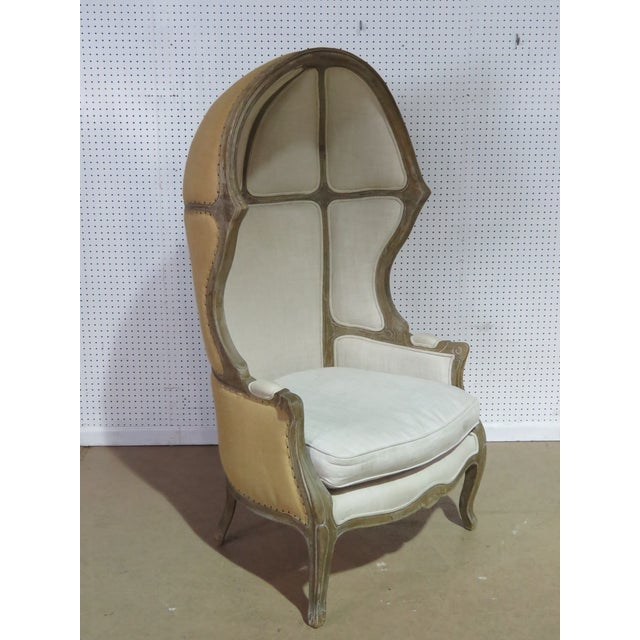 White French Provincial Style Porters Chair For Sale - Image 8 of 8