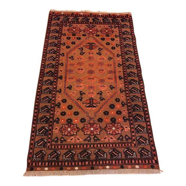 Vintage Anatolian Bergama Rug - 3′3″ × 5′7″ - Image 1 of 6
