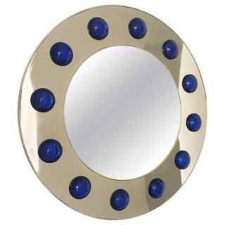 Marina Round Mirror by Fabio Ltd For Sale