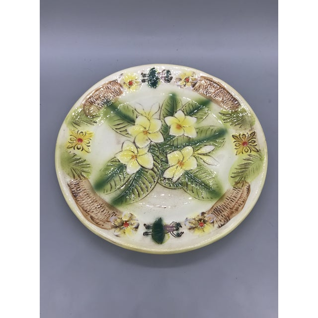 Vintage Kani of Hawaii Pottery Pie Plate For Sale - Image 10 of 11