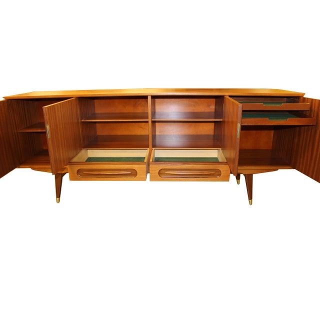 E. W. Bach Danish Modern Teak Credenza Sideboard - Image 4 of 10