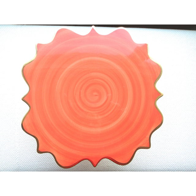 l'Objet Ceramic Cake Stand For Sale - Image 4 of 5
