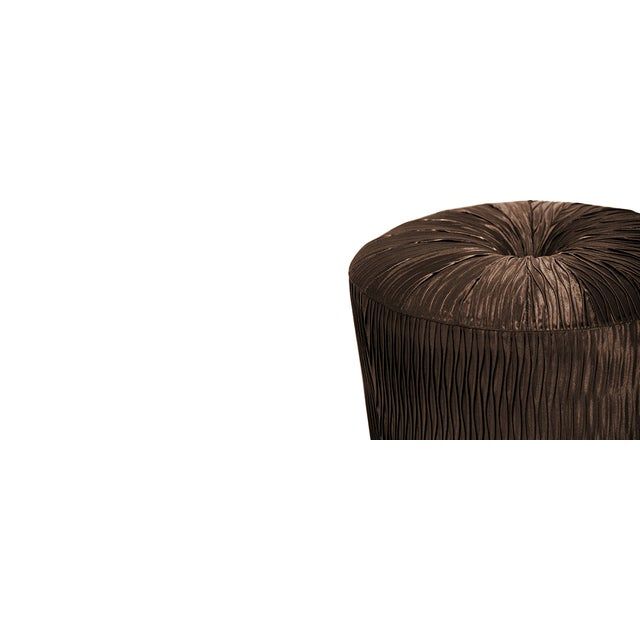 Mid-Century Modern Trésor Stool From Covet Paris For Sale - Image 3 of 7