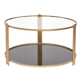 Contemporary Sydney Round Coffee Table For Sale