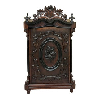 19th Century Napoleon III Period Wall Cabinet For Sale