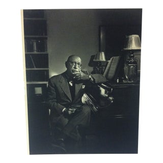 "Black & White Print on Paper, ""Igor Stravinsky"" by Yousuf Karsh, 1967 For Sale"