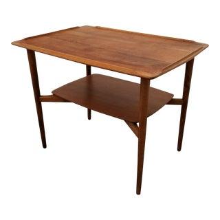 Torben Strandgaard Teak Danish Modern End Table For Sale