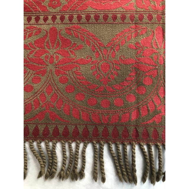 2010s Anichini Verona Italian Wool Throws - a Pair For Sale - Image 5 of 11