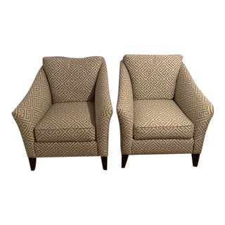 Ethan Allen Custom Chairs - A Pair For Sale