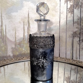 Silver Plate Engraved Perfume Bottle Preview