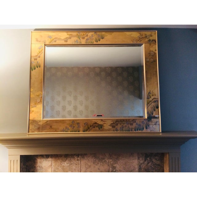 1980s La Barge Chinoiserie Mirror For Sale - Image 10 of 13