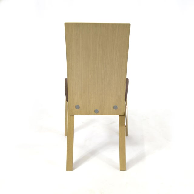 1990s Idealsedia Italian Made Post Modern Side Chairs - a Pair For Sale - Image 5 of 13