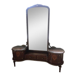 Antique 19th Century French Vanity With Ormolu