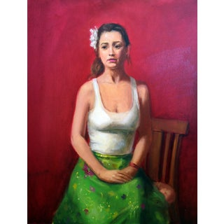 Maria' Female Figure Portrait For Sale
