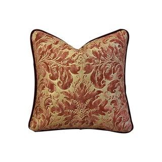 Custom Tailored Mariano Fortuny Lucrezia & Mohair Pillow