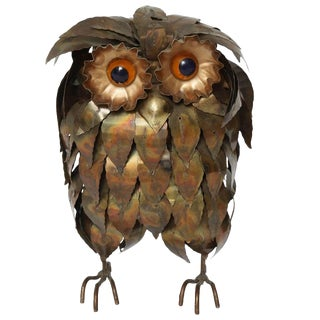 Curtis Jere Owl Figurine For Sale