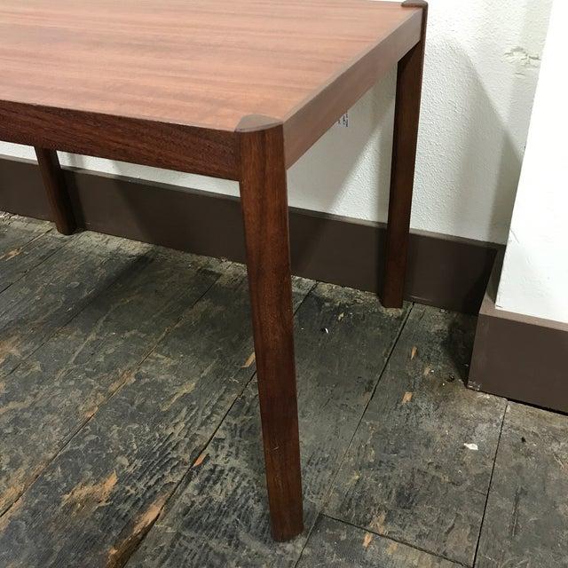 Teak Hans Olsen Danish Modern Teak Side Table For Sale - Image 7 of 10