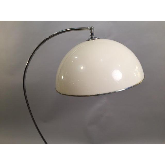 Mid-Century Floor Lamp Chrome 1970's - Image 3 of 6