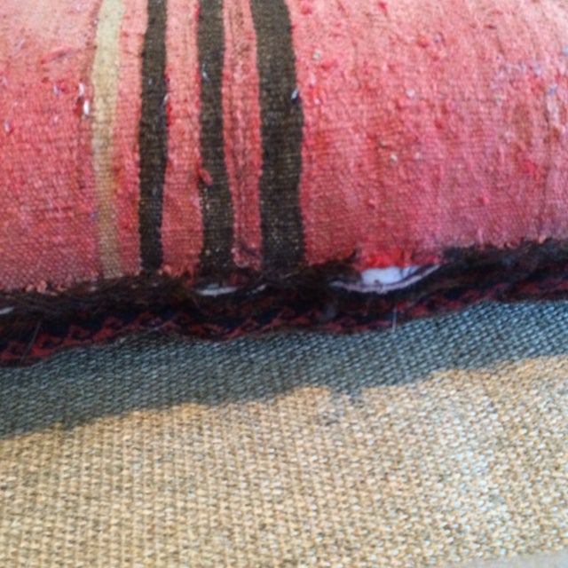 Vintage Rug Remnant Floor Pillow - Image 5 of 10