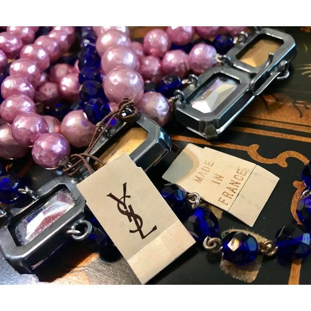 1970s 1970s Yves Saint Laurent Rive Gauche Necklace For Sale - Image 5 of 7