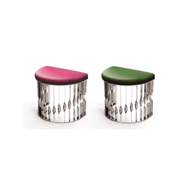 Mandy Stool From Covet Paris For Sale - Image 11 of 13