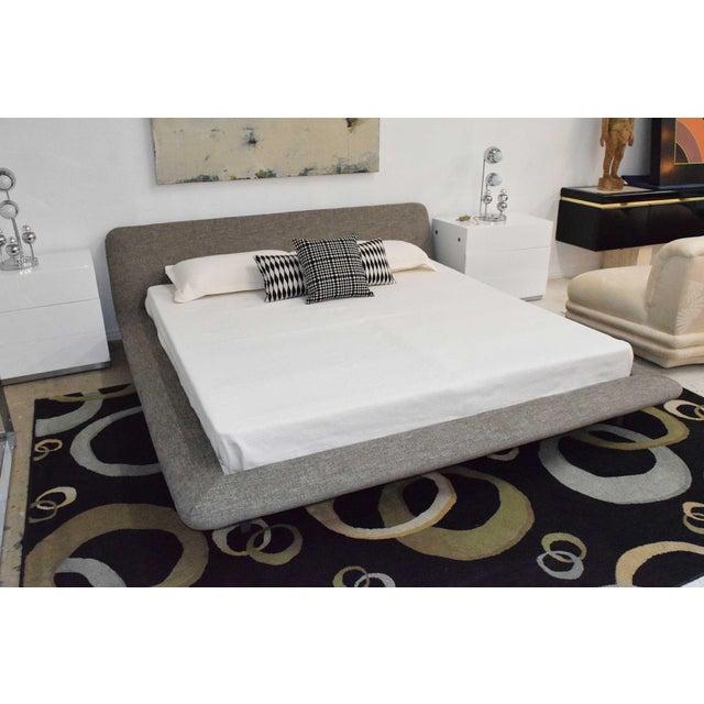 Textile Ligne Roset Uzume King Size Bed For Sale - Image 7 of 8